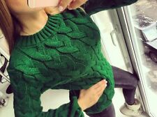 Knitted Women Sweater Jumper Lalo style
