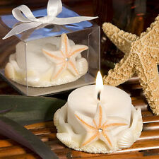 Matrimonio tema mare bomboniera portacandeline portacandele stella marina strass