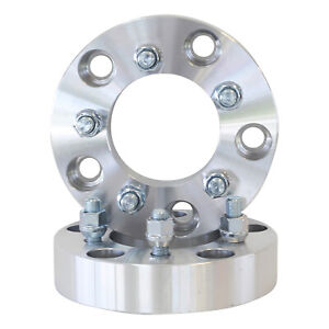 """2pc   5X5.5 to 5x4.5   1.5"""" inch Wheel Adapters   5x139.7 to 5x114.3"""