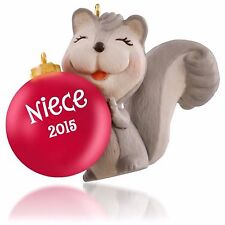 Hallmark 2015 Niece Christmas Ornament