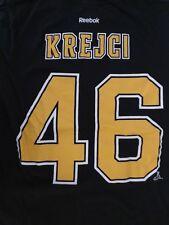 Boston Bruins — David Krejci  46 Reebok Jersey T Shirt — Medium Black 7bab70767