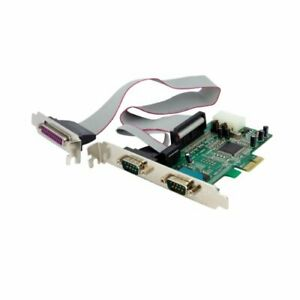 Startech.com 2s1p Pcie Parallel Serial Combo Card - 2 X 9-pin Db-9 Male