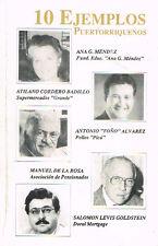 Antonio Rodriguez Carmona 10 Ejemplos Puertoriquenos Puerto Rico Ana G Mendez