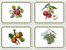 PORTMEIRION POMONA 4 LARGE PLACEMATS (BY PIMPERNEL) - NEW