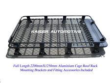 Heavy Duty Aluminium Roof Rack Cage for Toyota Landcruiser 80 Series 2.2m