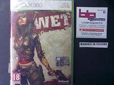 WET XBOX360 PAL ITA NUOVO SIGILLATO