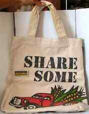 New DALE & THOMAS Popcorn CANVAS Reusable Eco BAG w. attached Zip COIN Purse