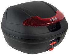 BAÚL TOP CASE GIVI E340 NEGRO MONOLOCK NEGRO DE 34 LITROS