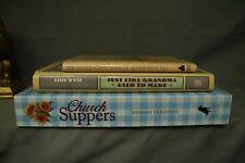 lot vintage recipe cook books cookbooks