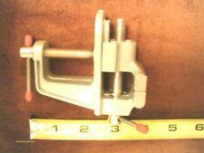 "1-1/2"" Clamp on Mini Hobby Vise Hobbies Light Weight Alloy Aluminum Body New"