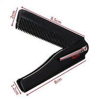 Beard Moustache Mustache Pocket Comb Folding Handmade Comb Men Women Hair