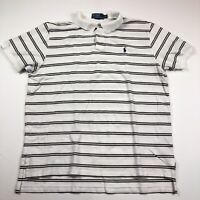 RLX Ralph Lauren Men's XXL Striped S/S Polo Golf Shirt