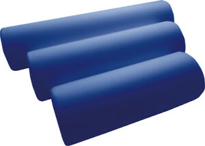 Knierolle mit Kunstlederbezug 40 x 15 cm, dunkelblau