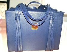 MCM Munchen NAVY COLLECTIBLE   FABULOUS HANDBAG. RARE FIND. LAST CHANCE