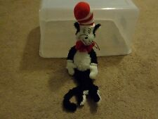 2009 DR SEUSS MANHATTAN TOYS CAT IN THE HAT PLUSH CHILDREN'S BOOK DOLL FIGURE