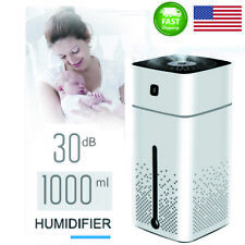 Air Humidifier 1000ml Usb Cool Mist Night light Purifier For Office Bedroom Yoga