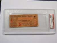 1933 WORLD SERIES Game 5 Clincher Griffith Stadium PSA Certified Encapsulated