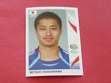 448 MITSUO OGASAWARA JAPAN PANINI FOOTBALL GERMANY 2006 WM FIFA WORLD