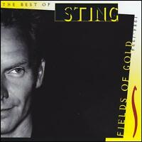 STING - THE BEST OF : FIELDS OF GOLD CD ( POLICE ) 80's 90's GREATEST HITS *NEW*