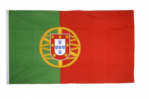 Portugal Flag Size 3x5ft 90x150cm Flags Eyelets
