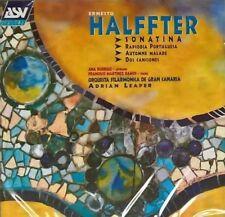 Halffter: Sonatina, Rapsodia Portugesa, Automne Malade, Dos Canciones (2000)