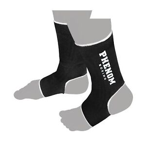 AS1 Ankle Supports Elasticated Foot Brace Guard Shin Protector MMA Sports
