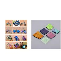 28G DICHROIC GLASS SCRAP FUSIBLE GLASS COE 90 FUSING GLASS FOR DIY JEWELRY