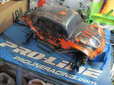 Traxxas Slash 4x4 1/10 sc truck chassis UPGRADED SICK