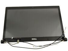 Dell Studio 1555 1557 1558 Complete Black LCD Screen Assembly Power Button Cam