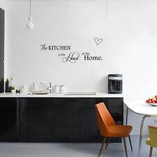 Wall sticker adesivo Kitchen Heart Home decorazione adesiva parete cucina casa
