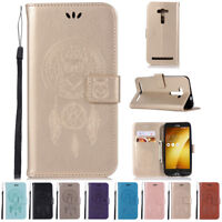Kickstand Wallet Card Flip Leather Case Cover For Asus Zenfone 2 Laser ZE550KL