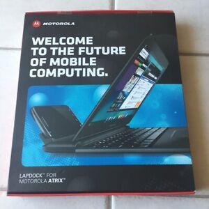 New/Sealed In Box Motorola Atrix 4G Laptop Dock LapDock