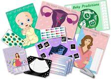 Juegos de fiesta de la ducha de bebé ~ 6 Juegos Unisex-hasta 20 jugadores