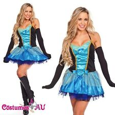 Ladies Fairy Princess Burlesque Fancy Dress Hens Night Party Dress Up Costume