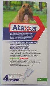 Pack 4 Ataxxa Extra Large dog 25kg - 40kg (55lb - 88lb) - 4 pipettes Spot on