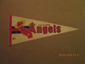 MLB California Angels Vintage 1970's Halo Logo Baseball Pennant
