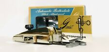 New listing Vintage Greist Automatic Buttonholer Attachment Style 4 Manual Plate & Templates