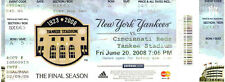New York Yankees Final Season Ticket & Yankee Stadium Final Season Fan Guide