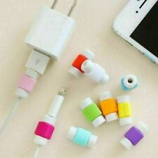 10 Pcs Protective Charging Charger Cable Protector Cord Saver for Apple products