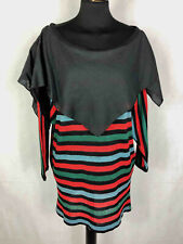 Roccobarocco Vintage '80 Sweater Women's Dress Oversize Woman Sweater Sz. L - 46