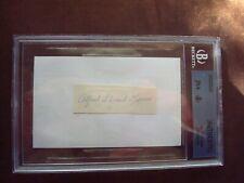Al Kaiser 1914 Indianapolis Federal League Beckett certified autograph d.1969