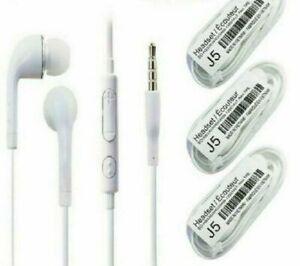 Handsfree Headphones Earphones Earbud with Mic,Apple iphone 5 5s SE 6 6+ Samsung
