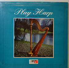 "Johnny Teupen - Clarke Woode SHIHAB - Play Harp - BASF CRM 636 - 12 "" LP (Y616)"