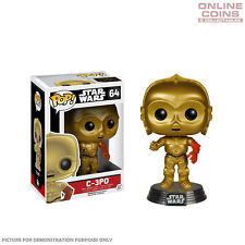 STAR WARS - C-3PO EPISODE 7 - FUNKO POP VINYL BOBBLE HEAD FIGURE