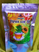 Organic Papaya Leaf Tea, Paw Paw, Miracle Health Drink, 100g / 3.53oz Resealable