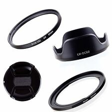 Adapter Ring+Lens Cap+LH-DC60 +UV Filter For 67mm Canon Powershot SX40 HS SX50