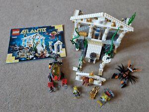 Lego Atlantis City 7985 Set Complete with ALL Rare Minifigures HTF Set Rare VG