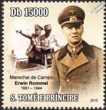 ERWIN ROMMEL Desert Fox/Afrika Korps/North Africa/VW Kubelwagen Car WWII Stamp