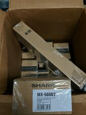 SHARP MX-560NT (MX-560NT) Black Toner Cartridge Genuine OEM Original