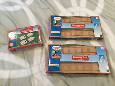 Thomas & Friends Wooden Train Ascending Track (2) & Track To Surface Ramps New!